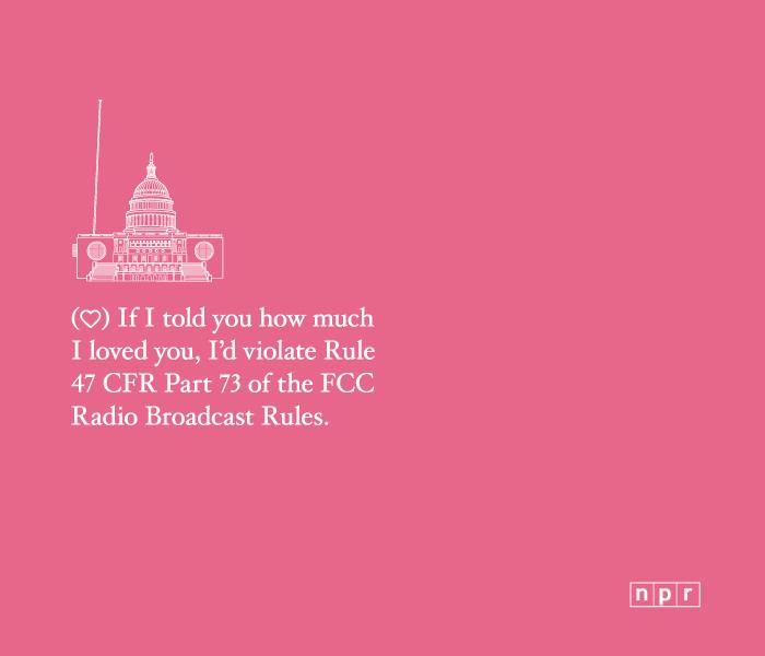 Nerd Alert! NPR Valentine's Day Cards