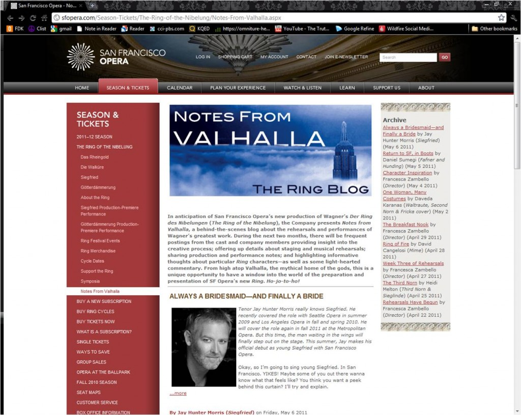 Blogs You Should Follow: Notes From Valhalla