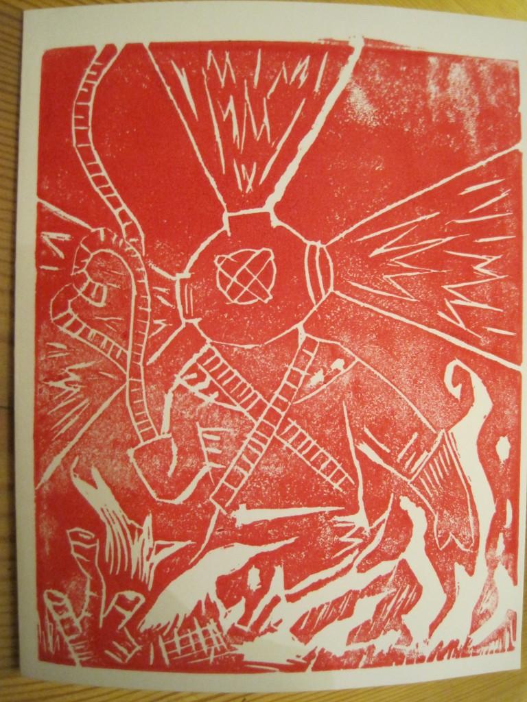 Linoleum Block Printing- Pt. 2