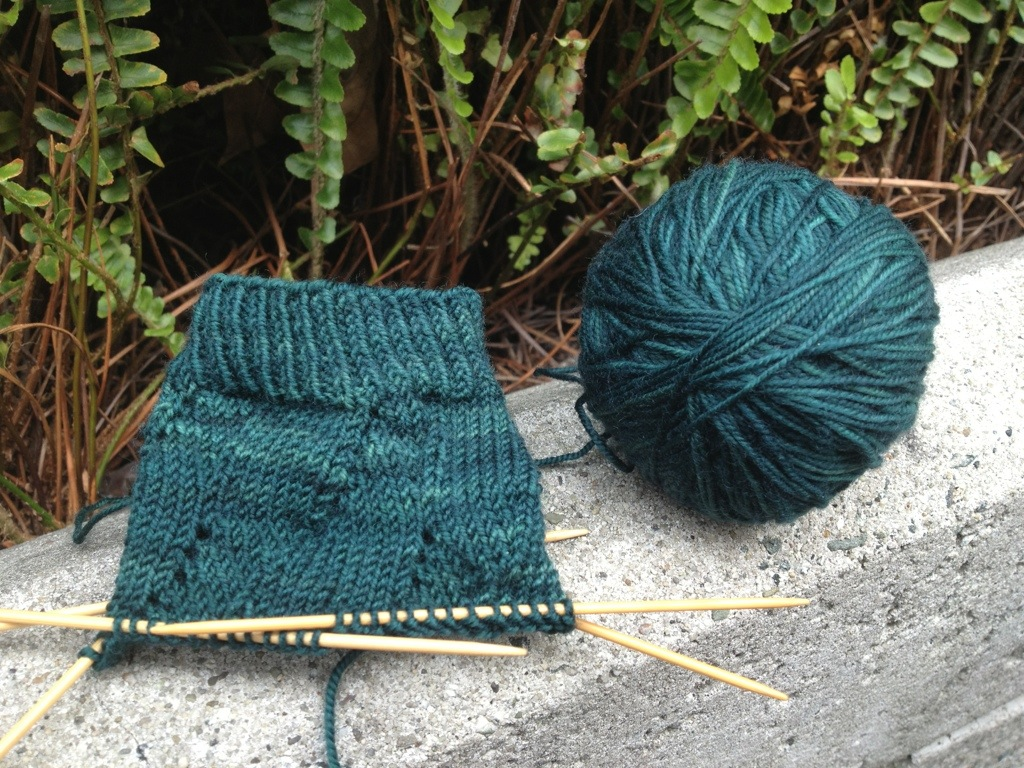 New Project: Sunday Swing Socks