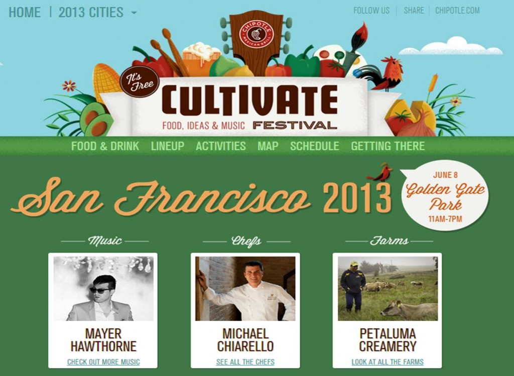 Chipotle's Cultivate Festival