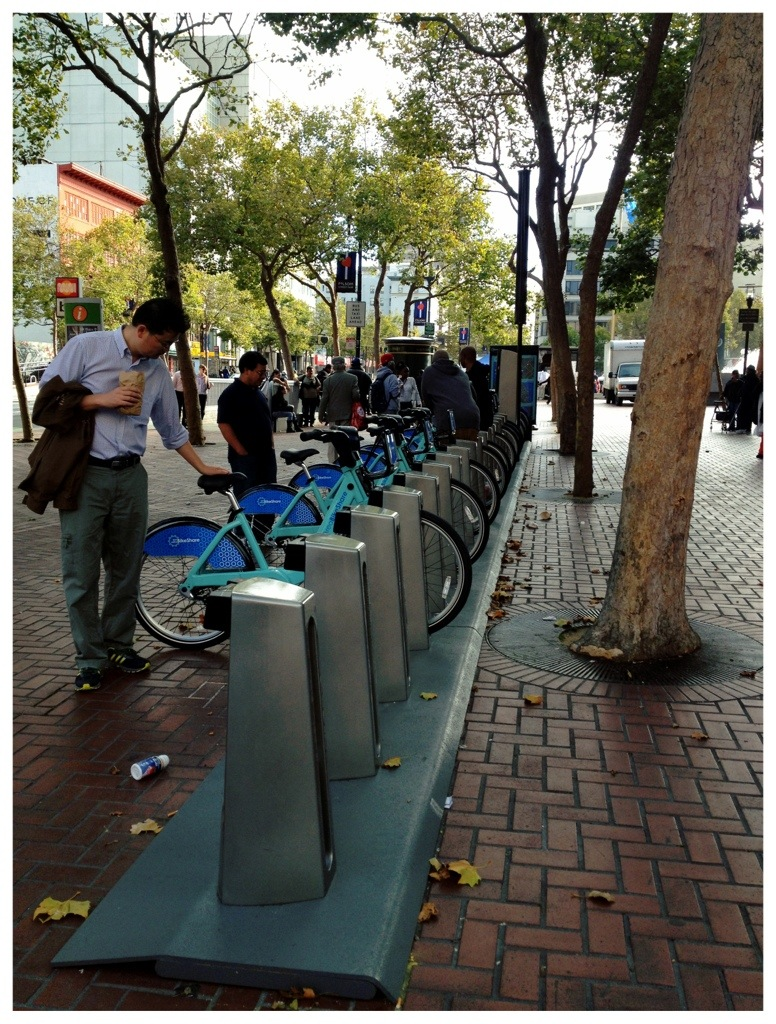 Bay Bike Share- It's here! It's here!