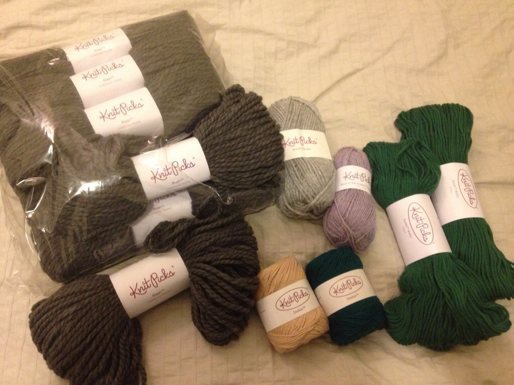 Knit: KnitPicks Holiday Sale Haul