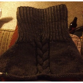 Knit: In Progress: Top Down Biggo Sweater