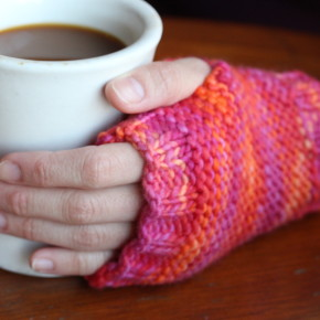 Knit: Dexter Fingerless Mitts