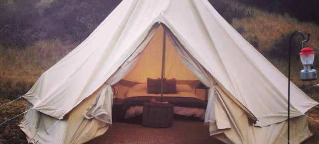 Travel: Glamping, Anxiety
