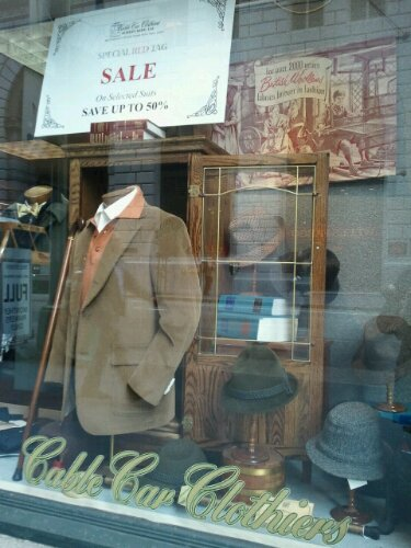 Window Dressing: Cable Car Clothiers