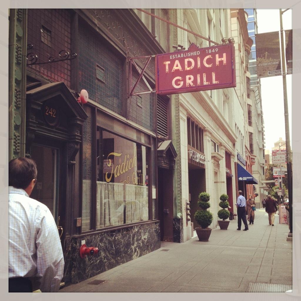 Tadich Grill: Very San Francisco, Very Noir