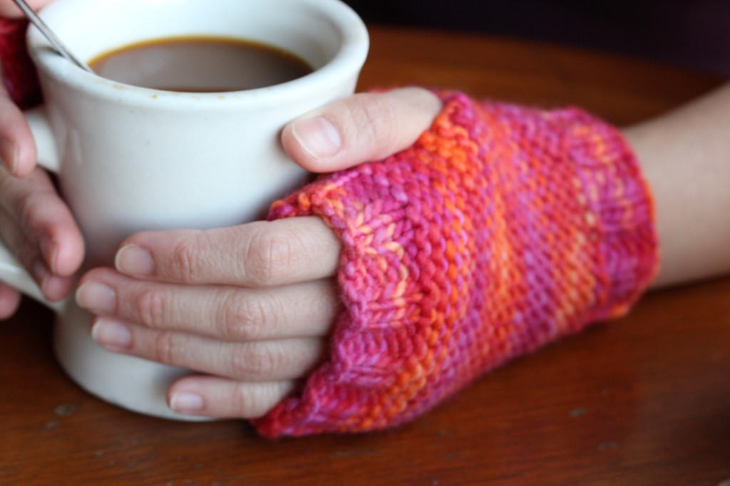 Knit: Dexter Fingerless Mitts
