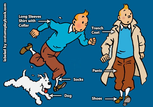 Tintin-costume-snowy-Adventures